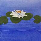 Blue Lotus Flower by pinxnpurples