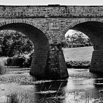 Richmond Bridge, Tasmania by WobblyWombat