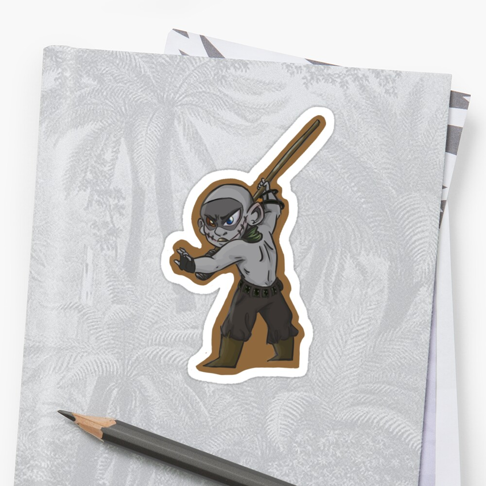 Tiny Warboy Sticker Front