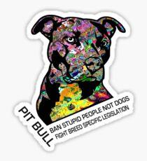 Pitbull BSL Black Sticker