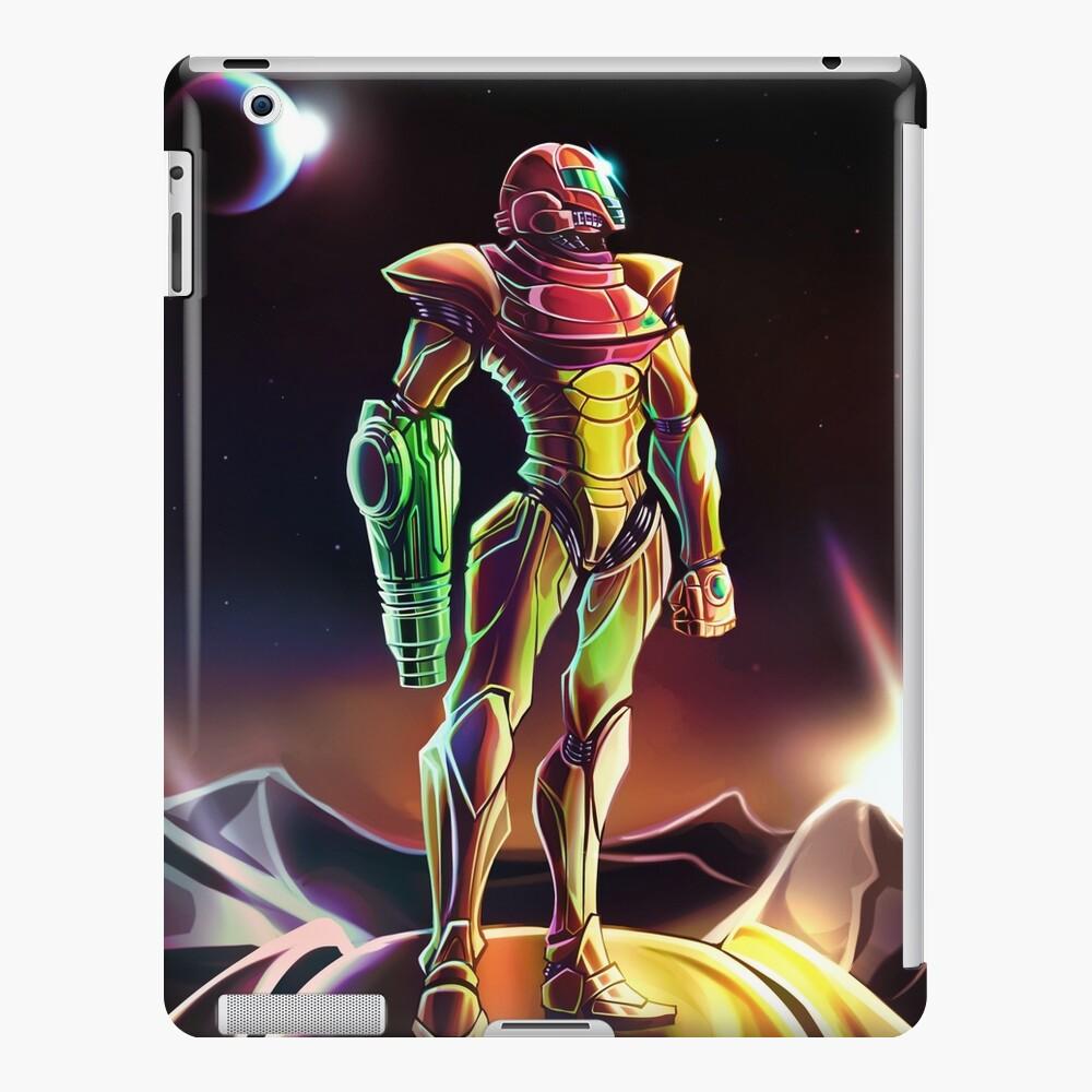 Samus Power Suit Funda y vinilo para iPad