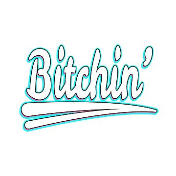 "Simple, creative, attractive and hilarious tee design in one! Grab this ""Bitchin'"" tee design now!  by Customdesign200"