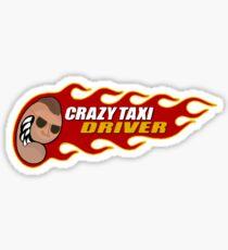 Crazy Taxi Arcade Game Stickers | Redbubble