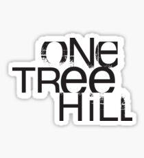Ein Baum Hügel Sticker