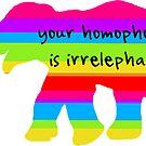 «La homofobia es irrelevante» de politedemon