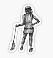Lax Girl Sticker