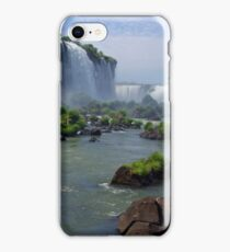 At the edge of the Devil's Throat iPhone Case/Skin