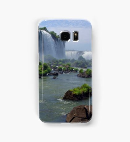 At the edge of the Devil's Throat Samsung Galaxy Case/Skin