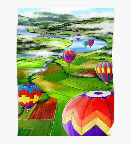 Farmland Float Poster