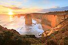 Twelve Apostles Sunset, Great Ocean Road, Australia by Michael Boniwell