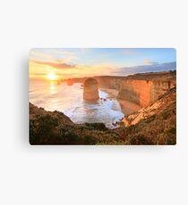 Twelve Apostles Sunset, Great Ocean Road, Australia Canvas Print