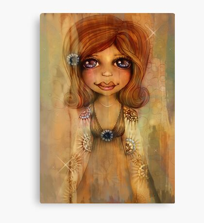 Miss Honey Canvas Print
