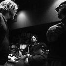 recording studio meeting by chrissylong