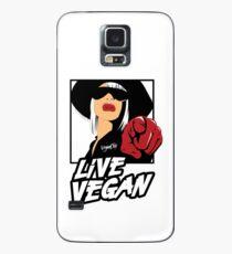 VeganChic ~ Live Vegan Case/Skin for Samsung Galaxy