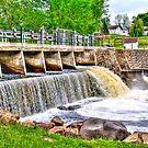Dam on Crawfish River by ECH52