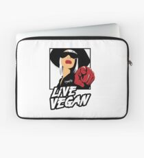 VeganChic ~ Live Vegan Laptop Sleeve