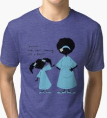 "Sister ~ Sister  ""Look Who's Coming"" (boy) Tri-blend T-Shirt"