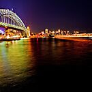 Sydney by Night by David Petranker