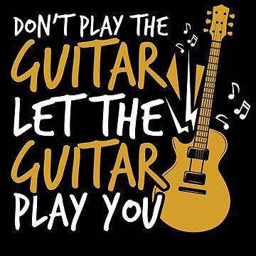 Guitar guitars player by GeschenkIdee