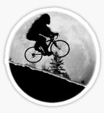 Bigfoot Rides! Sticker
