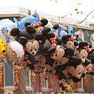 Balloons HK Dsineyland by Mark  Lucey