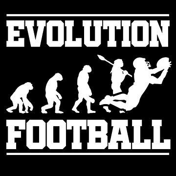 Evolution Football by GeschenkIdee