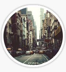Pegatina New York City
