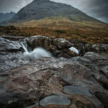 Fairy Pools on side by ClaireBear