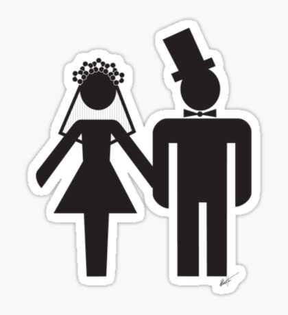 The Wedding Sticker
