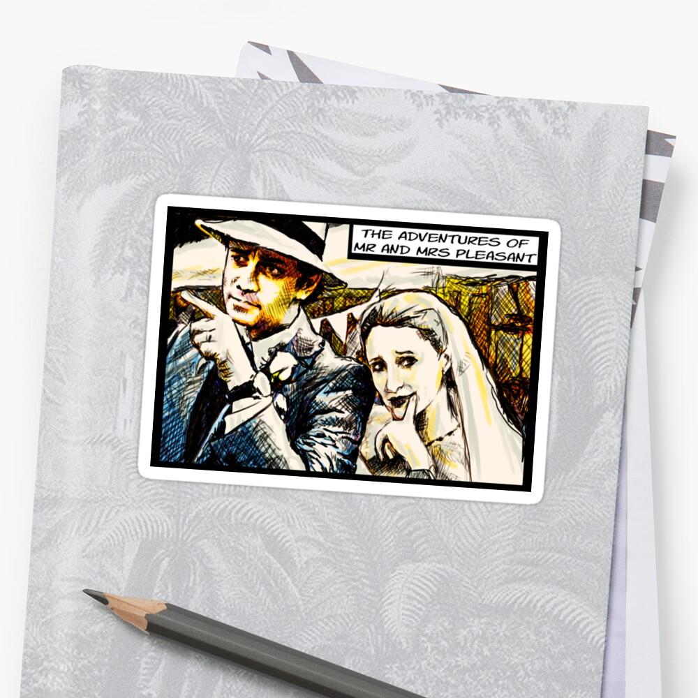Mr and Mrs Pleasant, 2014 Sticker