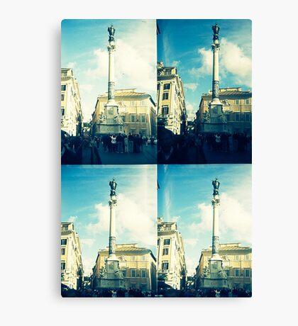 Rome Under An Acid Sky Canvas Print