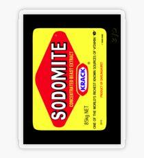 SODOMITE Sticker Transparent Sticker