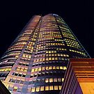 Roppongi Hills Mori Tower at Night - Warm Colors by DLKR