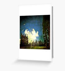 Blarney House, Ireland - Into the Sun Greeting Card
