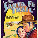 Classic Movie Poster - The Santa Fe Trail by SerpentFilms