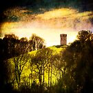 Folly near Caernarfon Castle, Wales by Lucy Martin