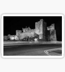 Cahir Castle at Night Sticker
