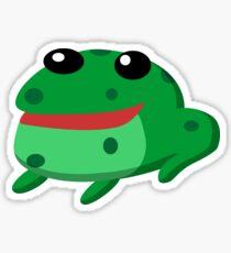 Froggy Fred Sticker