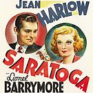 Classic Movie Poster - Saratoga by SerpentFilms