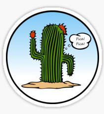 Spanish Cactus Sticker