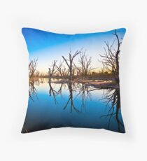 Dying to be here.......... Throw Pillow