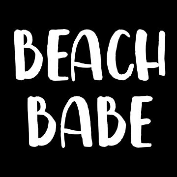 Beach Babe by with-care