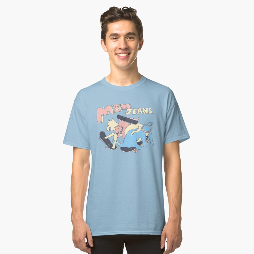 Mom Jeans band - puppy love Classic T-Shirt