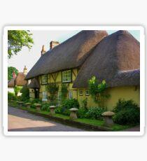 Wherwell Cottages (2) Sticker