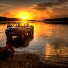 Easy Goes It - Narrabeen Lakes - The HDR Experience by Philip Johnson