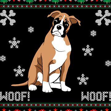 Christmas big dog Xmas by NovaPaint
