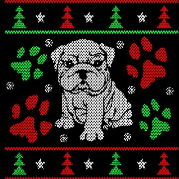Puppy dog Christmas by NovaPaint