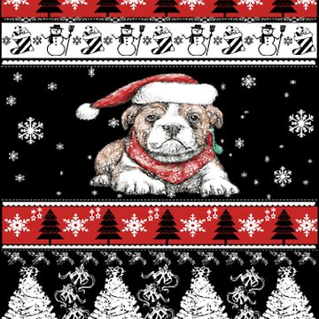 Sweet dog Christmas by NovaPaint