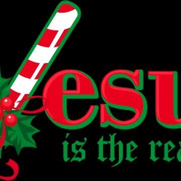 Jesus is the reason Christmas by NovaPaint