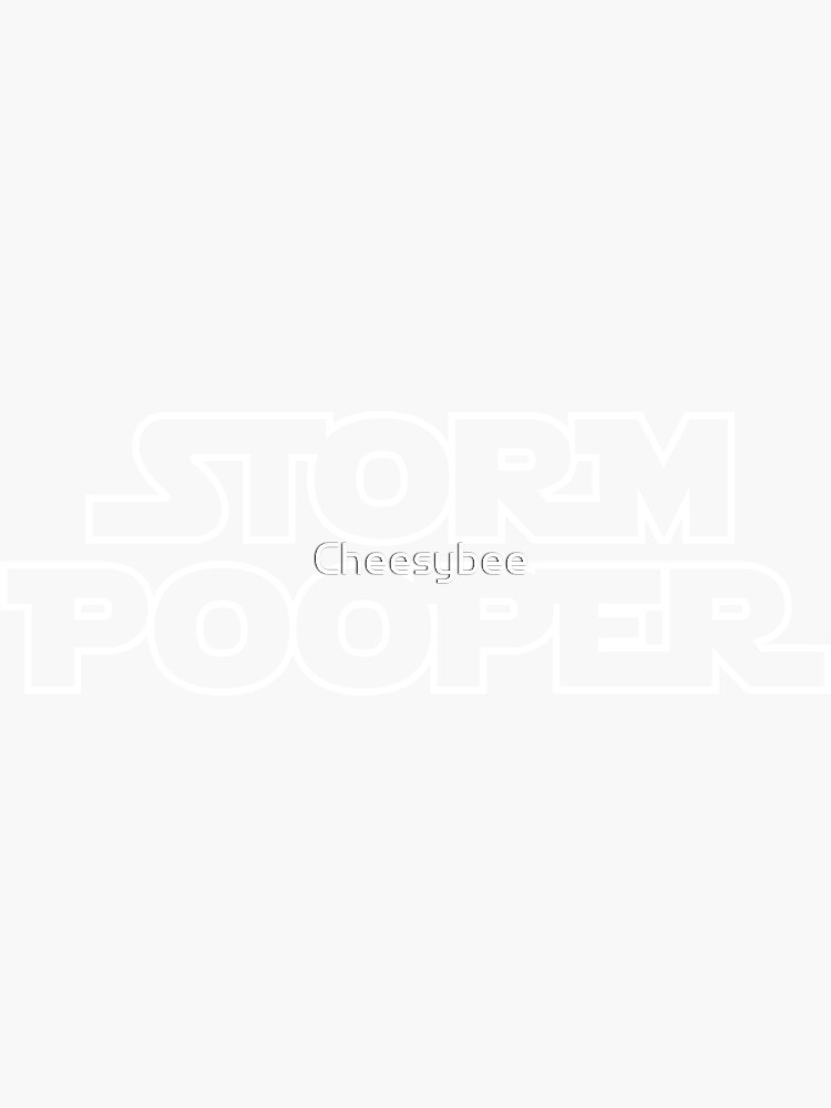 Storm Pooper by Cheesybee